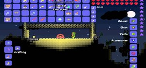Make a space gun in Terraria