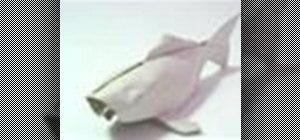 Origami a Koi fish