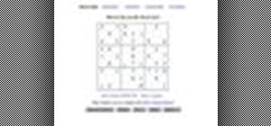 Play sudoku on Web Sudoku
