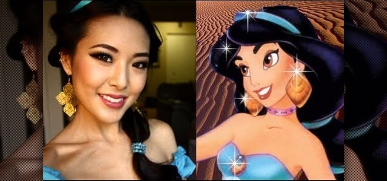 How to Create a Princess Jasmine makeup look for Halloween ...