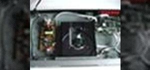 Clean an optical disc player