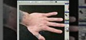Model the human hand in Maya