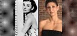 Look like Audrey Hepburn