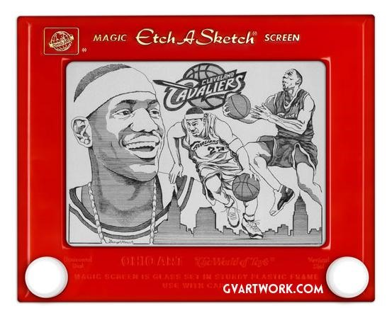 World's Greatest Etch-a-Sketch Artist: George Vlosich