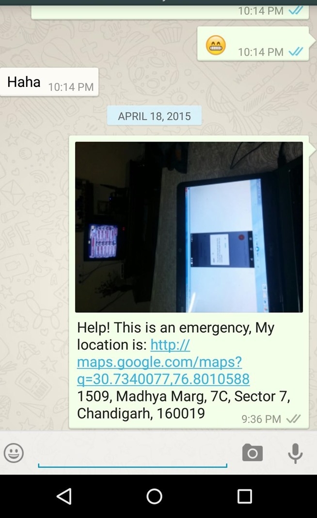 How to Send SOS Text Message and Share Picture with Location in an Emergency.