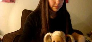 Do wrapped pigtails on your American Girl doll