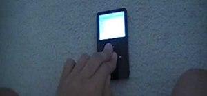 Reset your iPod if it freezes