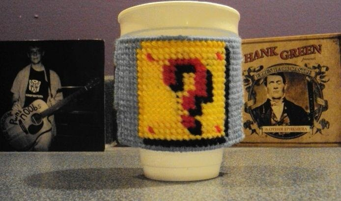 How to Make an Awesome, Nerdy Cup Sleeve