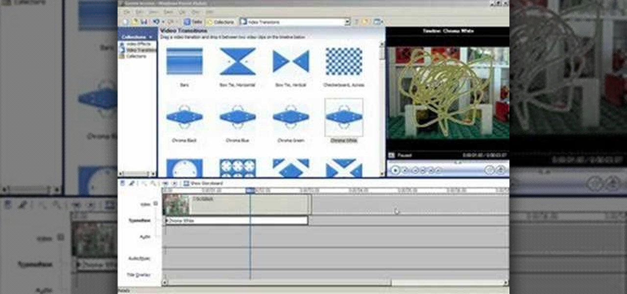 windows movie maker 6.0 transitions