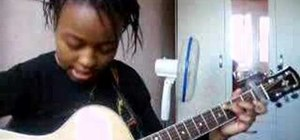 "Play ""Nobody's Home"" by Avril Lavigne on the guitar"