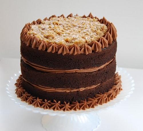 RECIPE: DarrylWallace's Favorite German Chocolate Cake