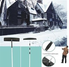How to Use a Roof Rake (Removing Snow & Ice from Your Home's Rooftop)