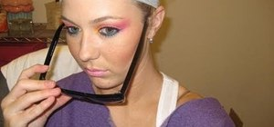 Go from daytime makeup to an '80s Halloween makeup look