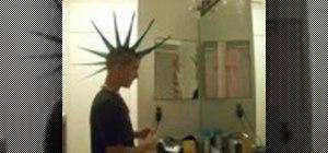 Style a liberty spike mohawk