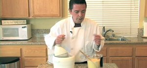 Make homemade French vanilla ice cream from scratch