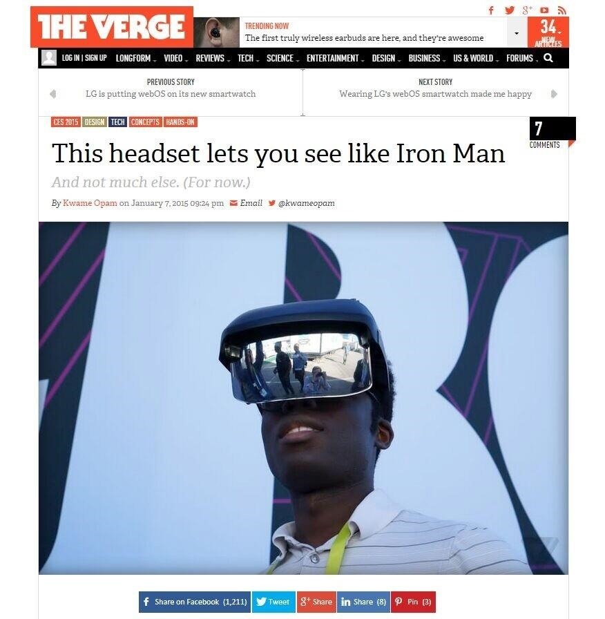 This Headset Lets You See Like Iron Man?