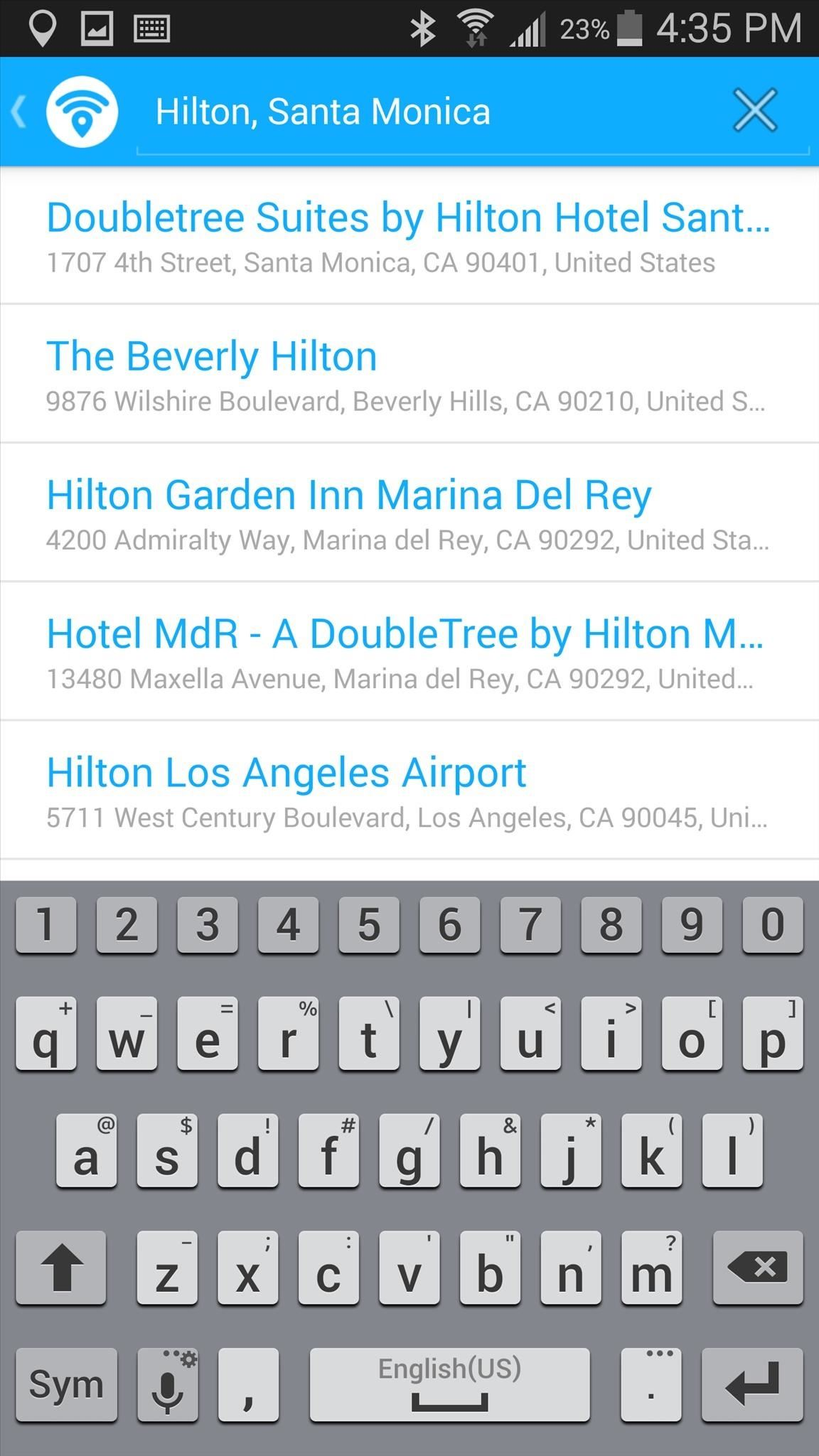 how to find local ip on android