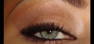 Create a bold Linda Evangelista 1990s makeup look