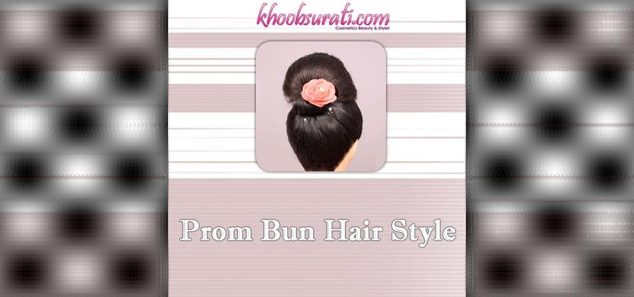 Do Prom Bun Hair Style