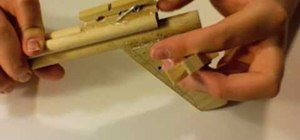Make a wooden crossbow