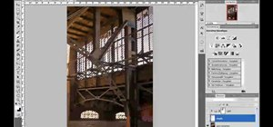 Create a cool lightbeam effect in Adobe Photoshop