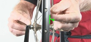 Easily true your mountain bike wheel using some helpful techniques