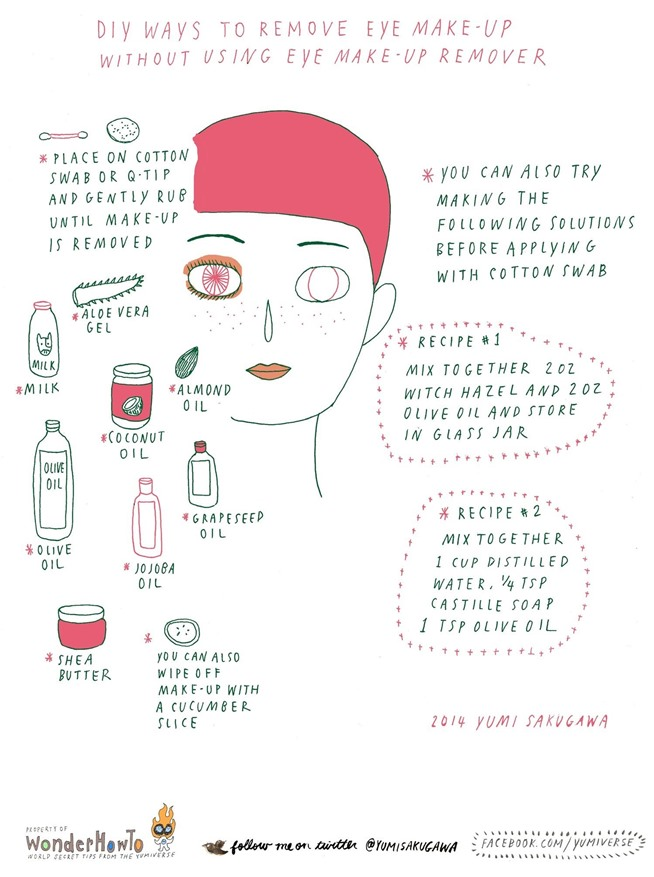 natural makeup remover home how your to at own eye make makeup make makeup remover remover natural to