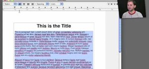 Use the TextEdit text editing application in Mac OS X