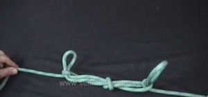 Tie a Sheepshank from a Tom Fool's knot
