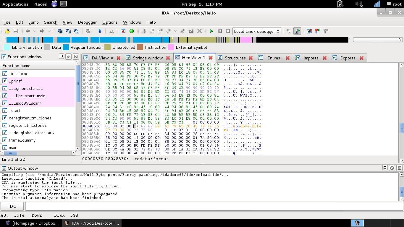Binary Patching. The Brute Force of Reverse Engineering with IDA and Hopper (And a Hex Editor).