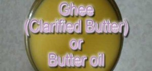 Clarify and preserve butter