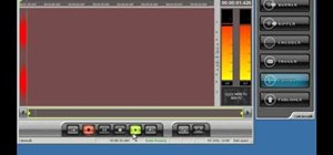 Record audio on a PC in pyro Audio Creator
