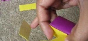 Origami an icosahedron