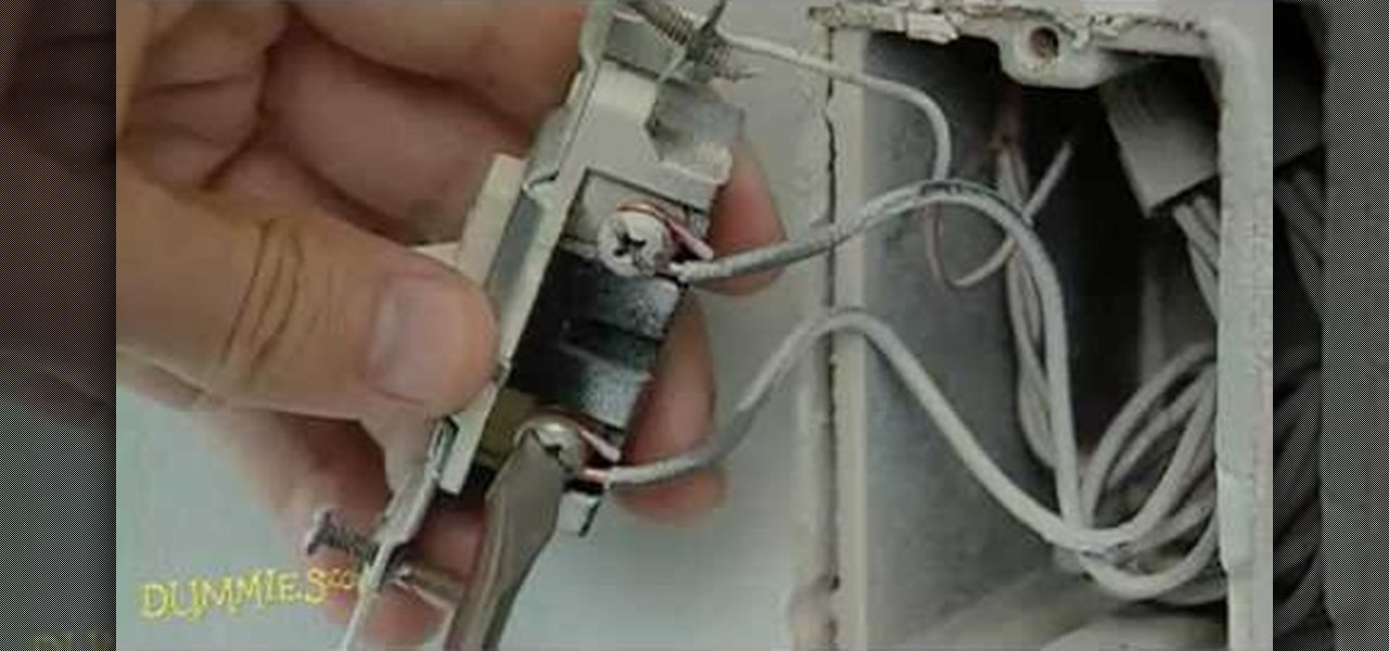 How to Replace a standard light switch with a dimmer switch ...