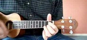 """Play """"Aloha Oe"""" in the key of G for the ukulele"""