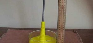 Do the Weissenberg effect science experiment