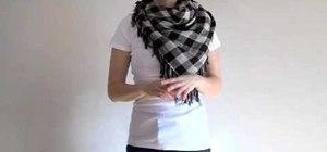 Tie a kerchief scarf