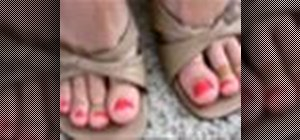 Give yourself a pedicure