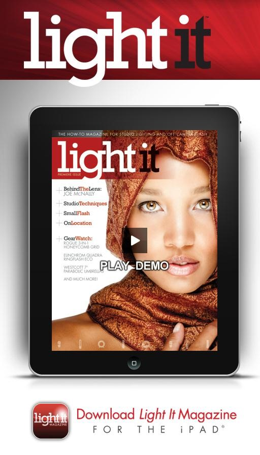 New Magazine by Scott Kelby for the iPad!