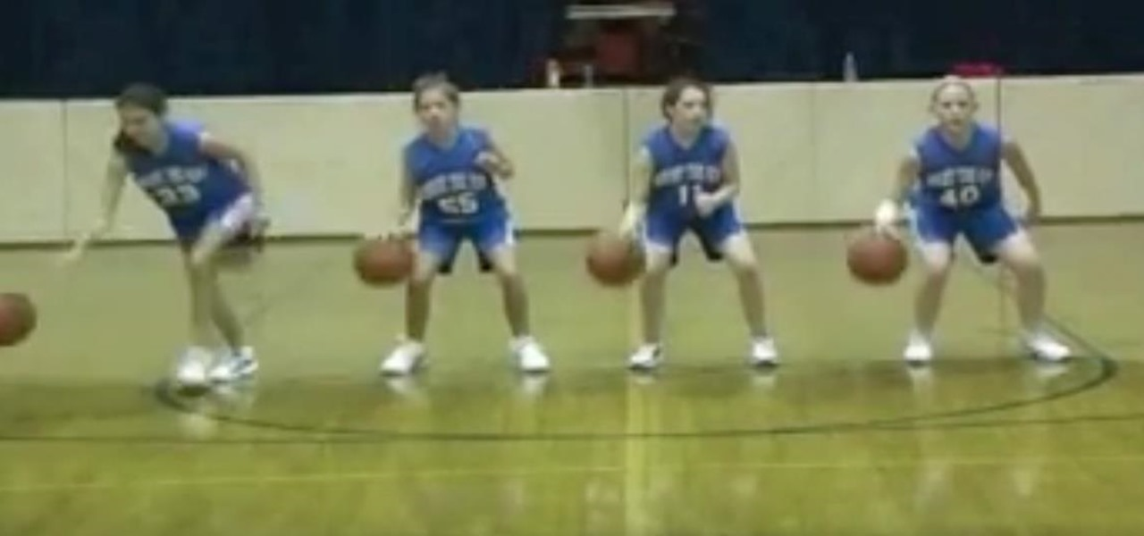 Coach Young Players with Simple Basketball Drills