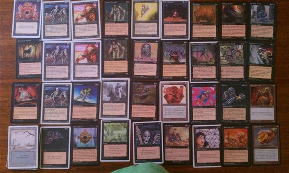 A Symphony of Evil: Javi's Black Deck