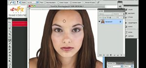 Remove blemishes from a digital photo in Adobe Photoshop CS4 or CS5