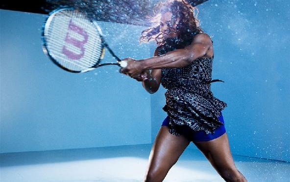 Tennis in Slow-Mo Looks Like Amazonian Ballet