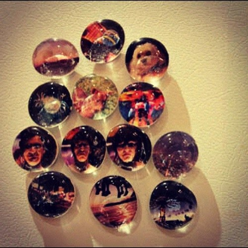 Make Magnets From Photos Make Marble Photo Magnets