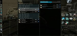 Set up your character attributes and skill training queue in EVE Online