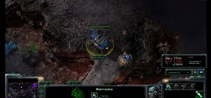 Make a wall of supply depots for Terran players in StarCraft 2