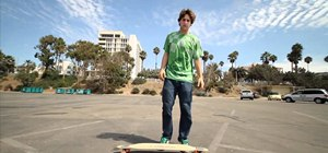 Do a Double Rainbow longboard trick with James Kelly