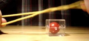 Do the Houdini ball rope escape magic trick