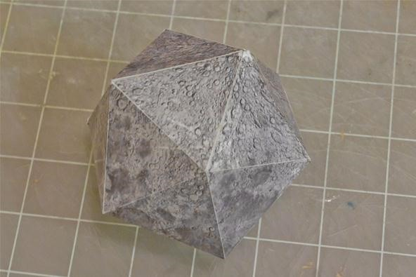 How to Make Icosahedral Planet Ornaments