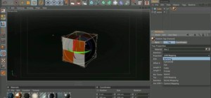 Apply materials via projection when using Cinema 4D